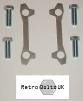 M16 Brake Caliper to Strut Bolts + Locking Tabs Solid Discs - MK1 ESCORT